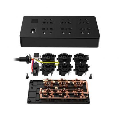 Сетевой фильтр KingMi AIGO Power Strip на 6 розеток Black-3