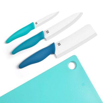 Набор керамических ножей с разделочной доской Xiaomi HuoHou - 1
