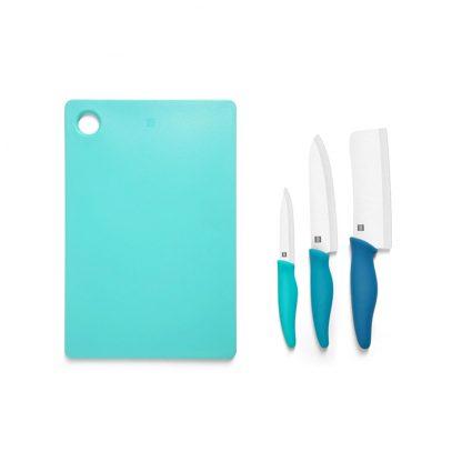 Набор керамических ножей с разделочной доской Xiaomi HuoHou . 4