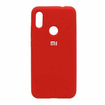 Nakladka Silikonovaya Dlya Xiaomi Redmi Note 7 Krasnyj 1