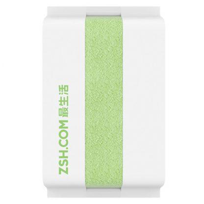 Хлопковое полотенце Xiaomi ZSH Youth Series 140 x 70 - green - 1