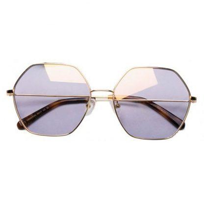 Солнцезащитные Очки Xiaomi TS Fashion Sunglasses Six Lines Shape Romb Gold SM086-0340 - 1
