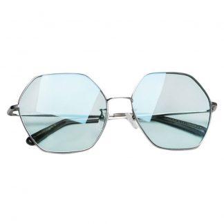 Солнцезащитные Очки Xiaomi TS Fashion Sunglasses Six Lines Shape Romb Silver Blue SM086-0205 - 1
