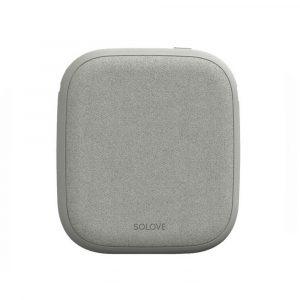 Vneshnij Akkumulyator Power Bank Xiaomi Solove W5 White S Besprovodnoj Zaryadkoj - 1