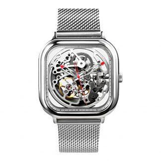 Часы Xiaomi CIGA Design Anti-Seismic Mechanical Watch Wristwatch (Silver) квадратные-1