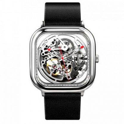 Часы Xiaomi CIGA Design Anti-Seismic Mechanical Watch Wristwatch (Silver) квадратные-2