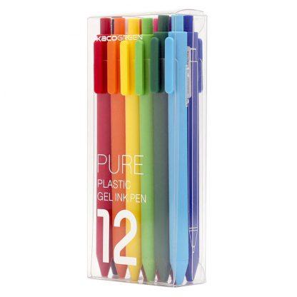Комплект гелевых ручек Xiaomi KACO Pure (12шт) - 1