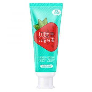 Детская зубная паста Xiaomi Dr.Bei Сhildren's Toothpaste Strawberry - 1