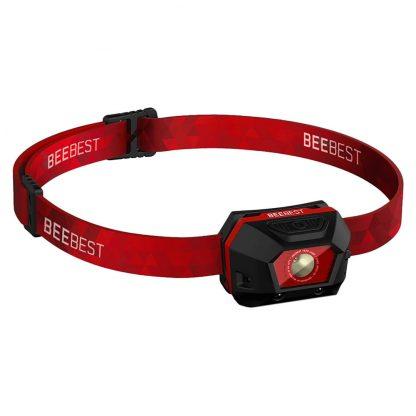 Фонарь налобный Xiaomi BeeBest Ultra Light FH100 black red - 1