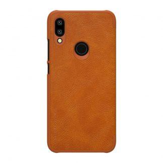 Knizhka Nillkin Qin Leather Xiaomi Redmi 7 Korichnevyj 1