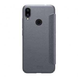 Knizhka Nillkin Sparkle Leather Xiaomi Redmi Note 7 Chernyj 1