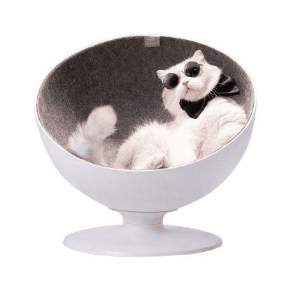 Лежанка для кошек Xiaomi Rotating Interactive Cat Boss Cat Nest - 2