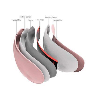 Маска для сна с подогревом PMA Graphene Heating Silk Eye Mask Pink - 2