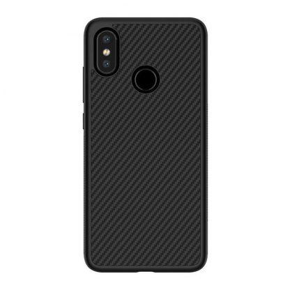 Nakladka Nillkin Synthetic Fiber Xiaomi Mi8 Chernyj 1