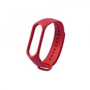 Ремешок для Xiaomi Mi Band 3/4 Красный Оригинал - 1