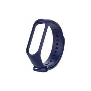 Ремешок для Xiaomi Mi Band 3/4 Синий Оригинал - 1