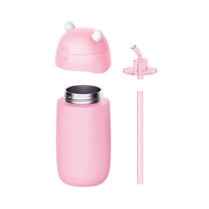 Детский термос Xiaomi MITU (Rice Rabbit) Pink - 2