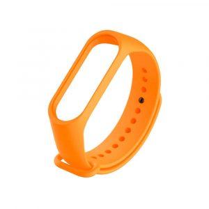 Ремешок для Xiaomi Mi Band 3/4 Оранжевый Оригинал - 1