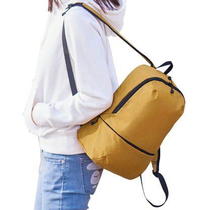 Рюкзак Xiaomi Zanjia Lightweight Small Backpack 11L Yellow - 3