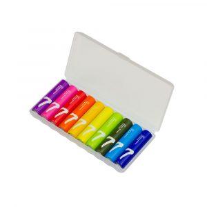 Батарейки алкалиновые Xiaomi Rainbow 7 AAA (уп.10 шт.) - 1