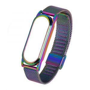 Металлический браслет для Xiaomi Mi Band 3/4 - цветной - 1