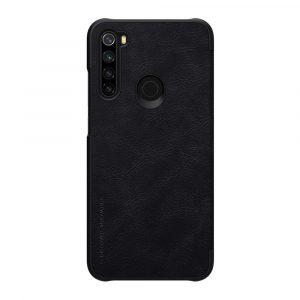 Knizhka Nillkin Qin Leather Xiaomi Redmi Note 8 Chernyj 1