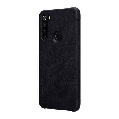 Knizhka Nillkin Qin Leather Xiaomi Redmi Note 8 Chernyj 3
