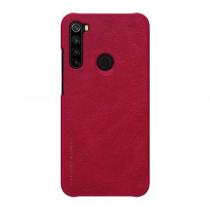 Knizhka Nillkin Qin Leather Xiaomi Redmi Note 8 Krasnyj 1