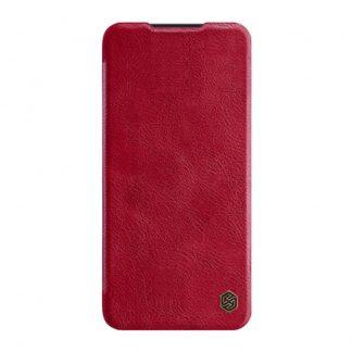 Knizhka Nillkin Qin Leather Xiaomi Redmi Note 8 Pro Krasnyj 1