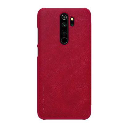 Knizhka Nillkin Qin Leather Xiaomi Redmi Note 8 Pro Krasnyj 2