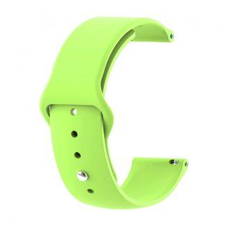 Ремешок силиконовый для Xiaomi Amazfit GTR зеленый - 1