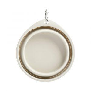 Складная миска для животных Pet silicone folding bowl Big - 1