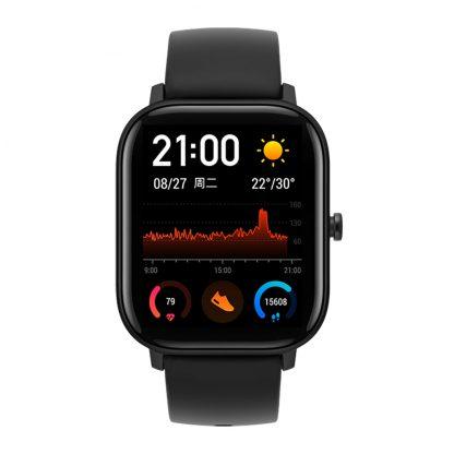 Умные часы Xiaomi Amazfit GTS Smart Watch (Black) - 1