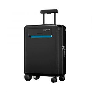 "Умный чемодан Xiaomi Cowarobot Intelligent Travel Suitcase 20"" (Black) - 1"