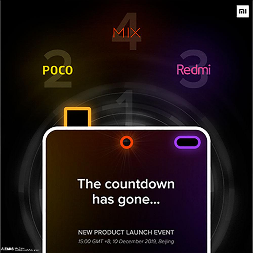 Xiaomis New Poster Poco2 Mix Redmi 1