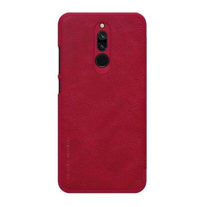 Knizhka Nillkin Qin Leather Xiaomi Redmi 8 Krasnyj 1