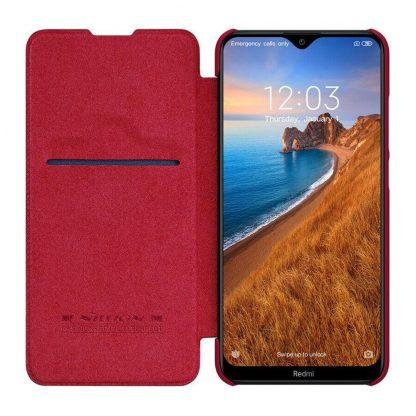 Knizhka Nillkin Qin Leather Xiaomi Redmi 8 Krasnyj 3