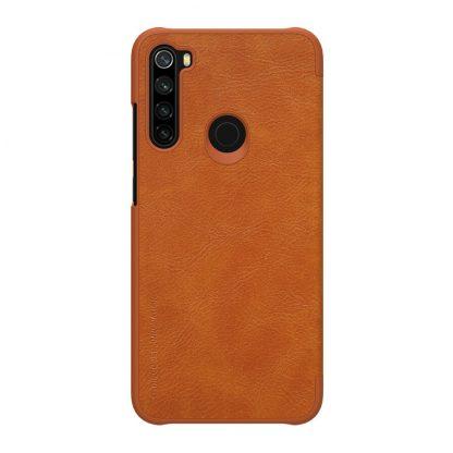 Knizhka Nillkin Qin Leather Xiaomi Redmi Note 8 Korichnevyj 1
