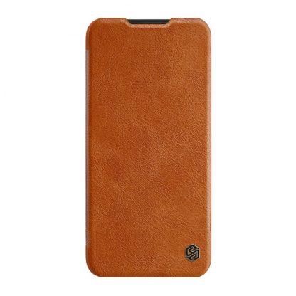 Knizhka Nillkin Qin Leather Xiaomi Redmi Note 8t Korichnevyj 2