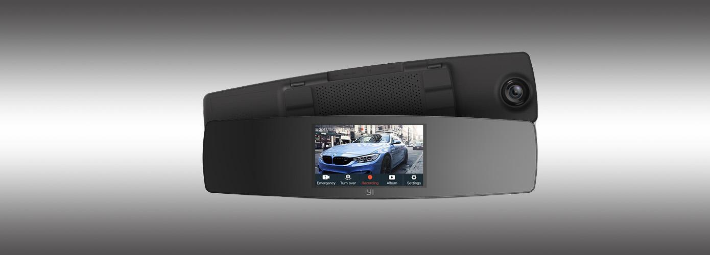 Opisanie Yi Mirror Dash Camera 1