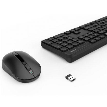 Besprovodnaya Klaviatura Mysh Xiaomi Miiiw Mouse Keyboard Set Black 2