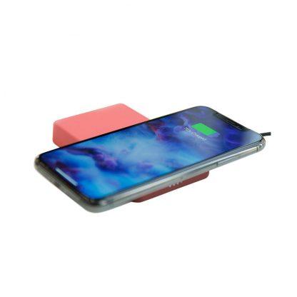 Besprovodnoe Zaryadnoe Ustrojstvo Xiaomi Rui Ling Power Sticker Red 3