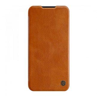 Knizhka Nillkin Qin Leather Xiaomi Redmi Note 8 Pro Korichnevyj 1