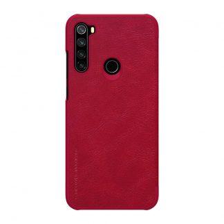 Knizhka Nillkin Qin Leather Xiaomi Redmi Note 8t Krasnyj 1