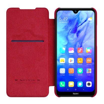 Knizhka Nillkin Qin Leather Xiaomi Redmi Note 8t Krasnyj 2