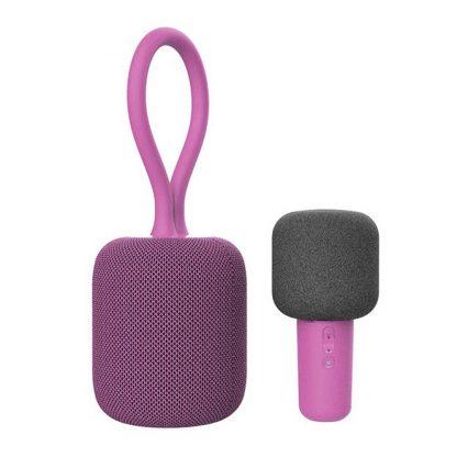 Nabor Dlya Karaoke Xiaomi Ul Life Ik8 Karaoke Speaker Pink 1