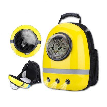 Ryukzak Dlya Pitomczev Xiaomi Pet Cats Backpack Yellow 2