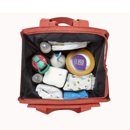 Ryukzak Sumka 2 V 1 Xiaomi Childish Mummy Bag Dual Use Red 3