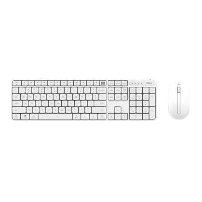Besprovodnaya Klaviatura Mysh Xiaomi Miiiw Mouse Keyboard Set White 1