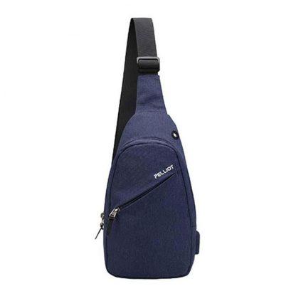 Ryukzak Xiaomi Pelliot Simple Tide Fashion Bag Blue 1